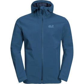 Jack Wolfskin JWP Veste shell Homme, indigo blue